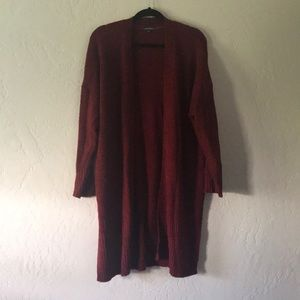 Wild Fable Red Knit Cardigan